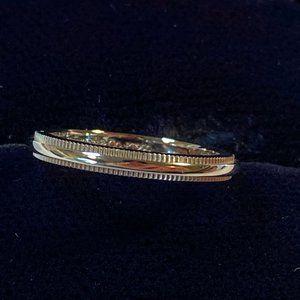 Tiffany Milgrain Wedding Band Ring 2mm Platinum